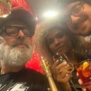 con Davide Lavia e Jennifer Vargas da GNAM a San Valentino