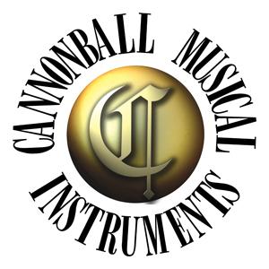Cannonball music sax logo